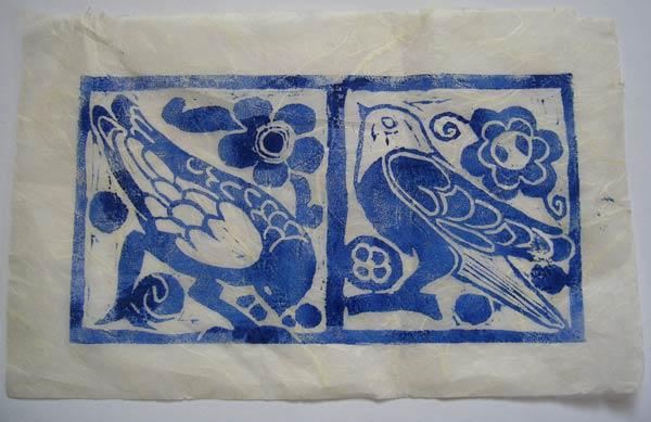 Helen Pakeman 'Blue-birds'