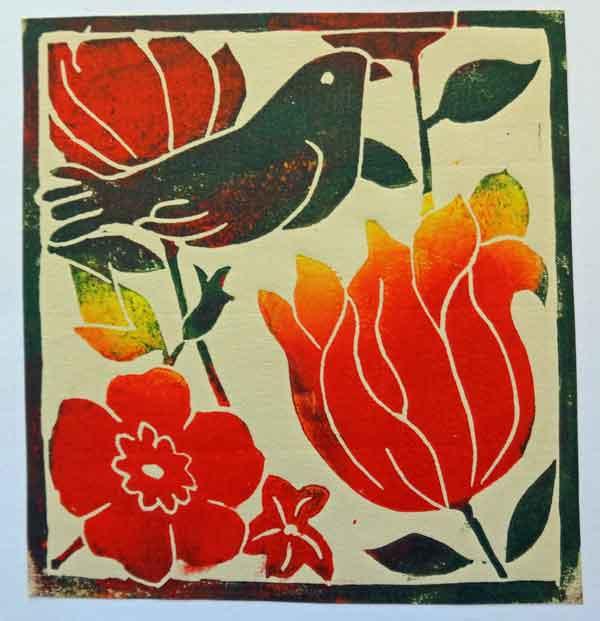 Bird-in-flowers-2-Helen-Pakeman