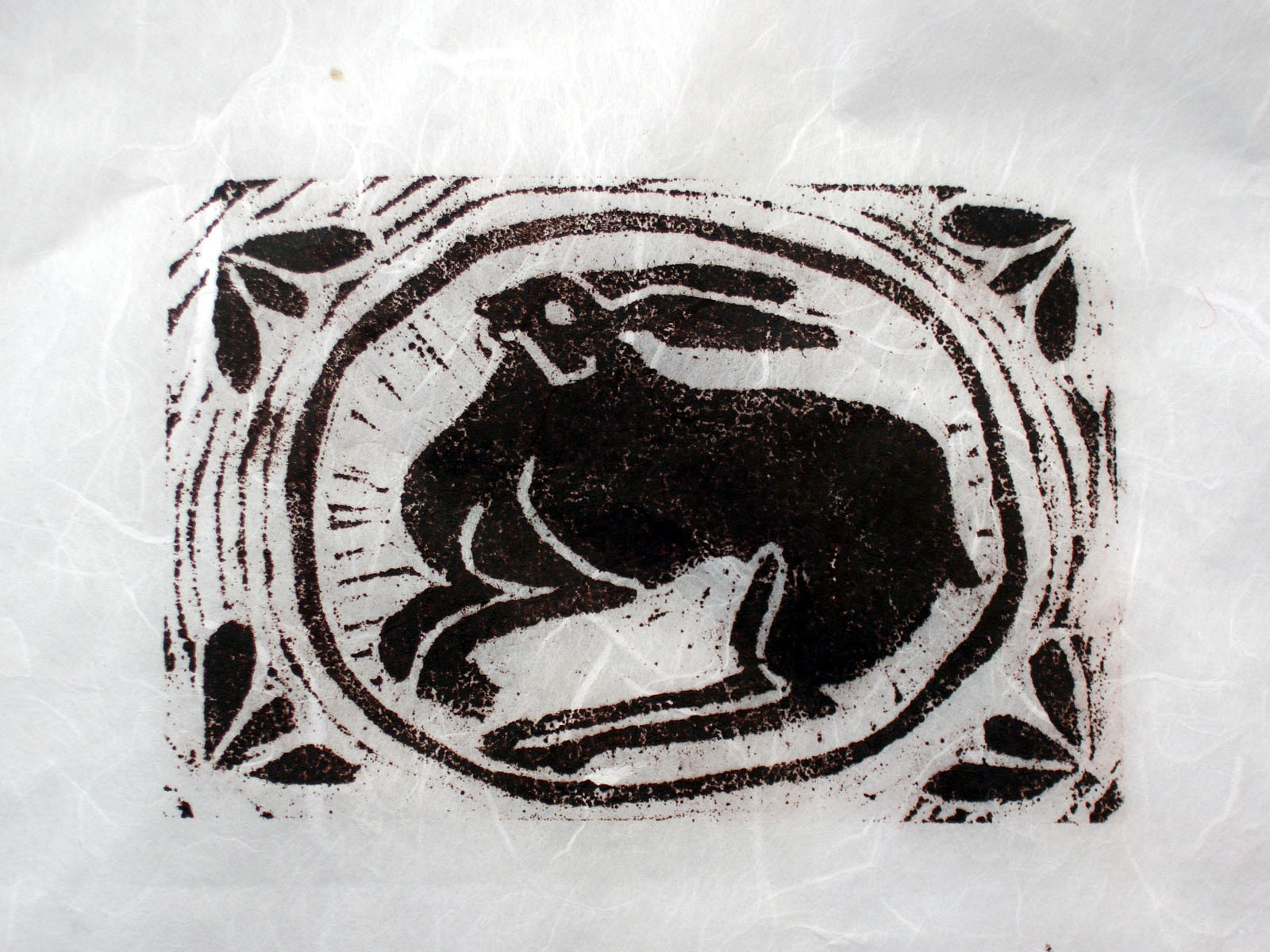 Helen Pakeman 'Nesting Hare'