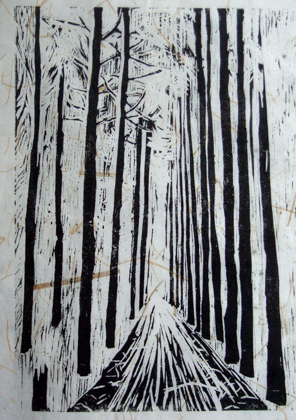 Helen Pakeman 'Day in pinewoods'