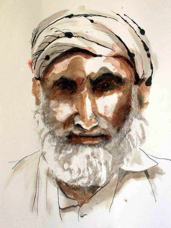 Helen Pakeman 'Afghan old Man'