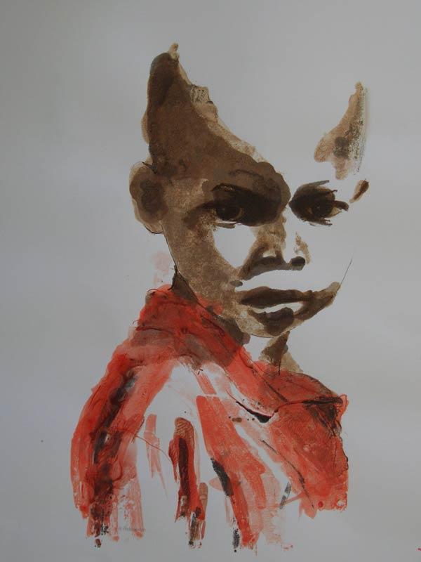 African Boy Names: Helen Pakeman Monoprinting And Linocut ArtistHelen Pakeman