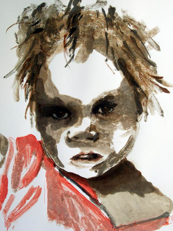 Helen Pakeman 'Indian Ragamuffin Child'
