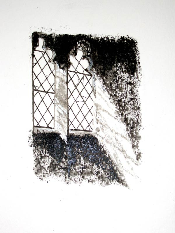 Helen Pakeman 'Inglesham Church Window'