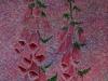 Helen Pakeman 'Foxgloves' painting
