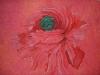 Helen Pakeman 'Poppy Head' painting