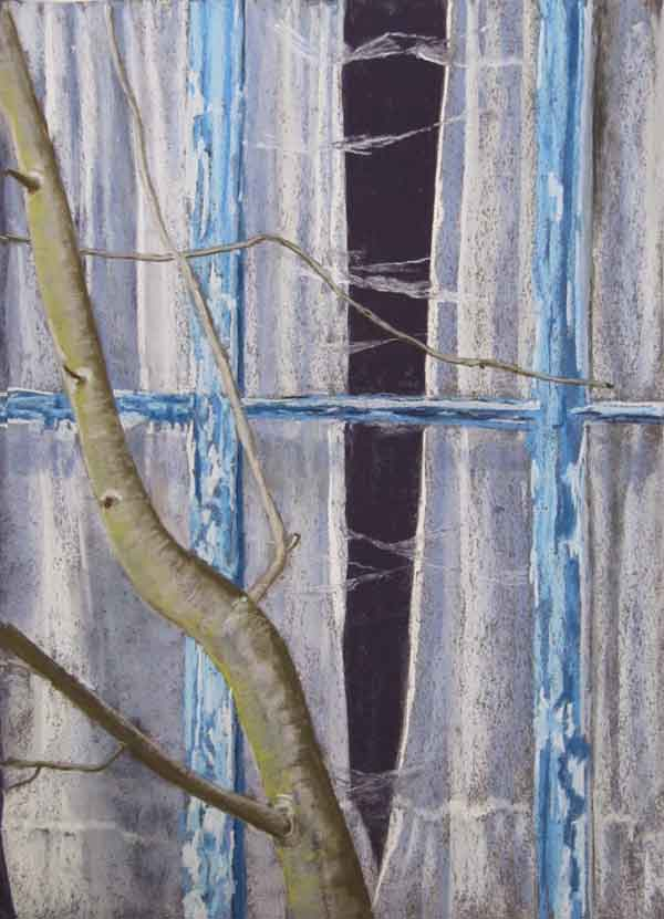 Helen Pakeman 'The house with the blue windows'