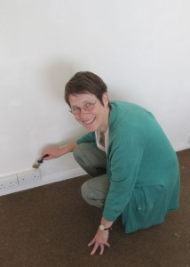 HelenPakeman 'Painting my studio space'