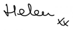 Helan Pakeman linocut artist signature